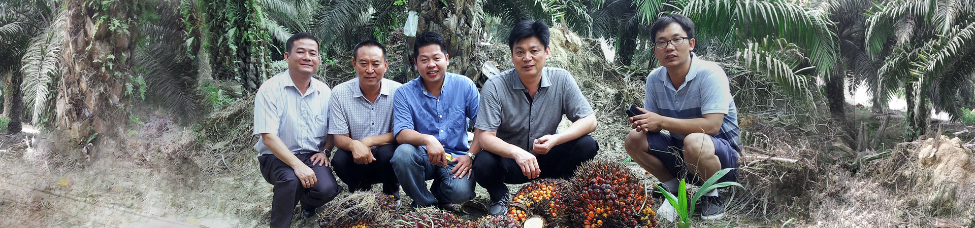 Our manager and engineers visited palm oil plantation in Malaysia