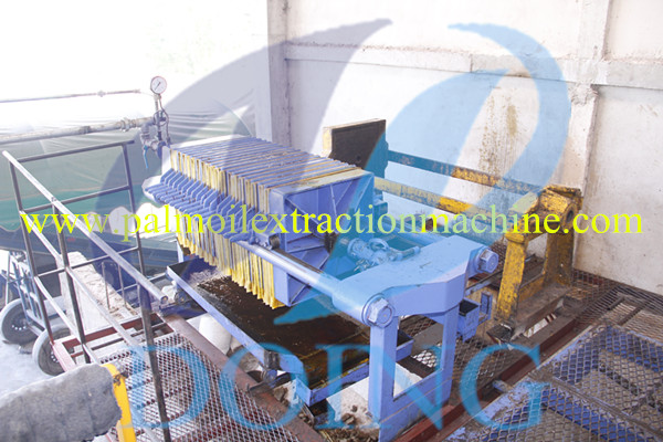 plate filter of palm oil mill plant