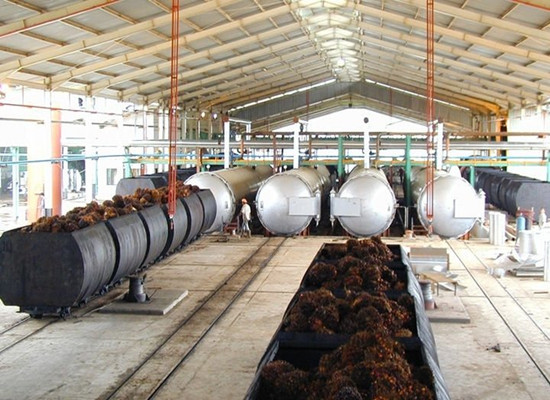 Differences of sterilizer for palm oil mill and cooker for vegetable oil