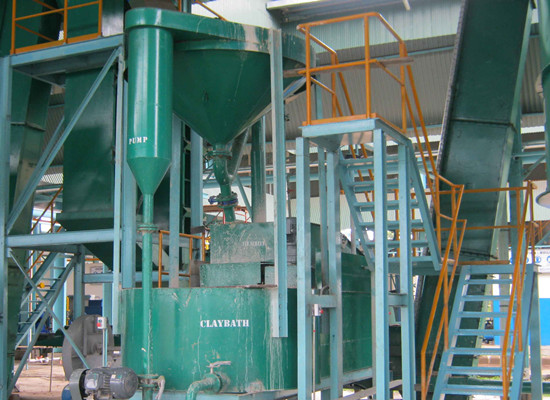 Palm kernel & nut separation station