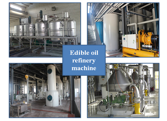 Crude palm oil refining process