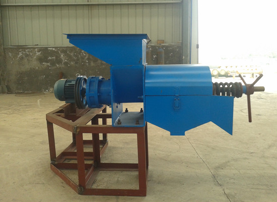 Palm oil extraction press machinery hot sale in Ken