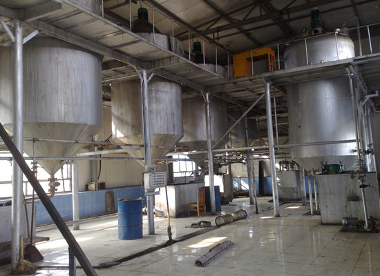 1-20TPD batch palm oil refinery machine