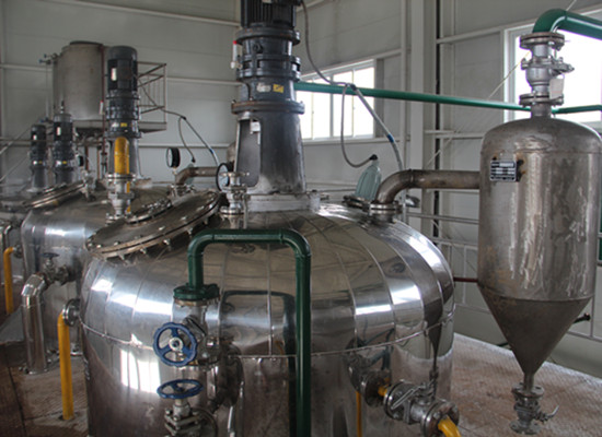Palm oil cooling and crystallization equipment plant