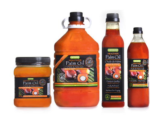 What is crude palm oil, crude palm kernel oil and refined palm oil/palm kernel oil?