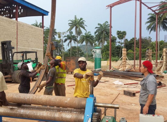 palm kernel extraction installation