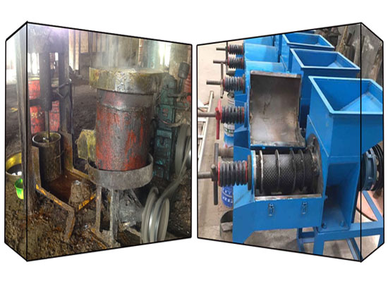 Traditional VS modern palm oil processing machine
