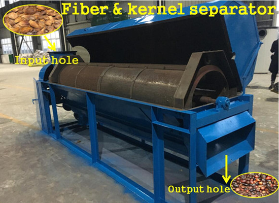 5tpd palm kernel oil pressing production line video