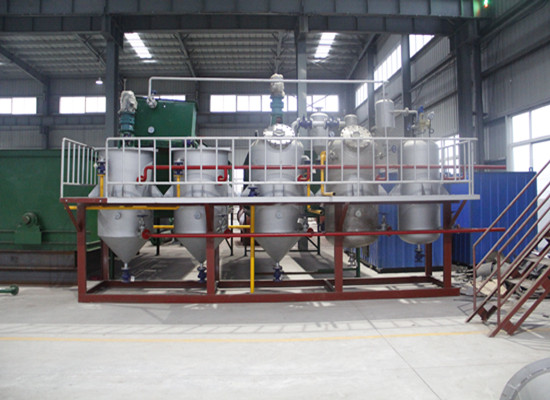 Intermittent palm oil refining equipment