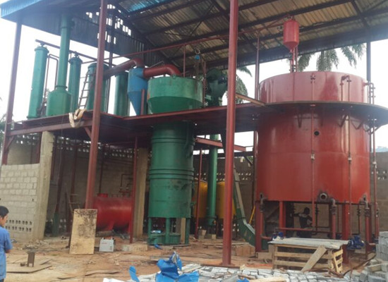 60t/day palm kernel oil extraction plant installation process update