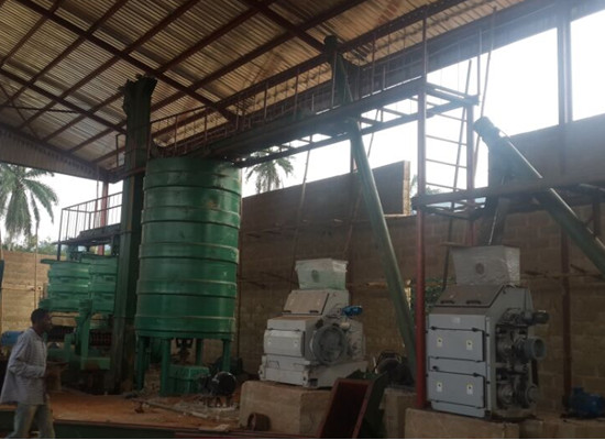 palm kernel oil extraction mill