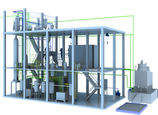 Palm oil fractionation plant technology