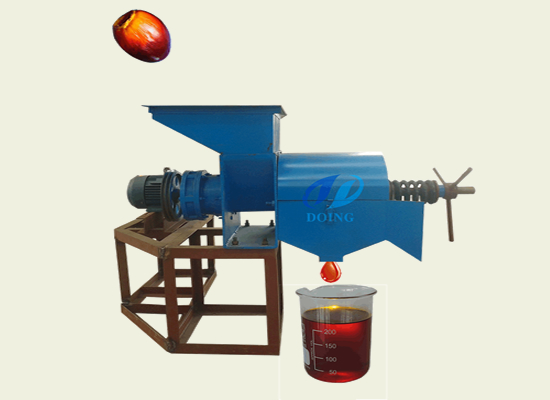 300-500kg/h small palm oil expeller machine