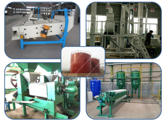 Palm kernel oil milling machine