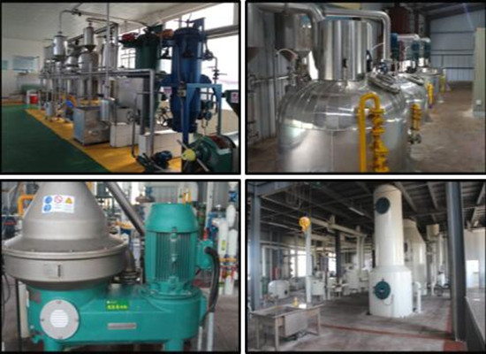 Small-medium-big sized palm kernel oil refinery plant