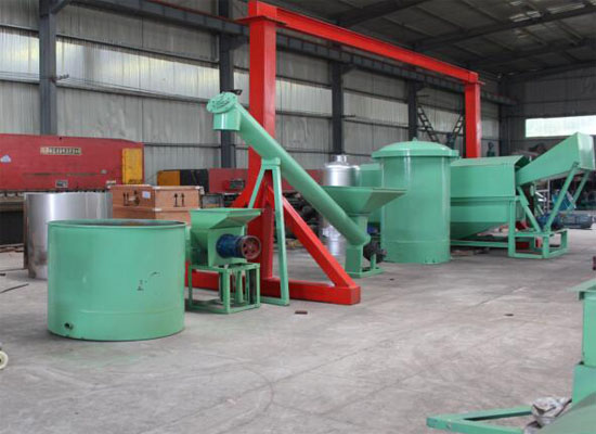 Complete set of palm oil processing machine supplier