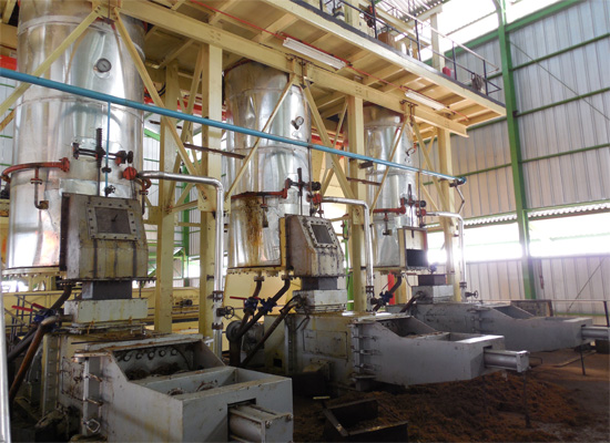 Turn key project for palm kernel oil plant