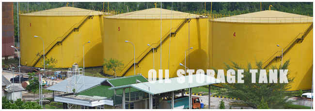 Crude palm oil tank