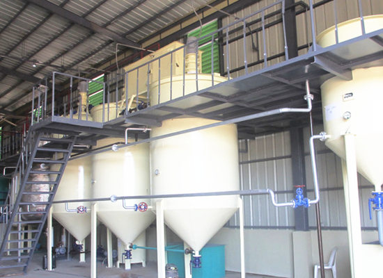 Palm oil refinery with capacity of 4 TPD