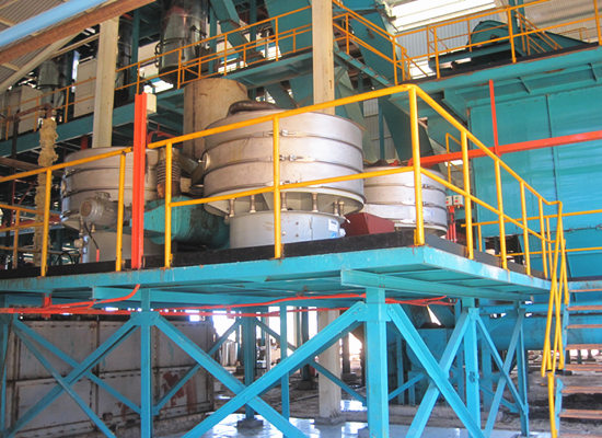 Big scale palm oil machine