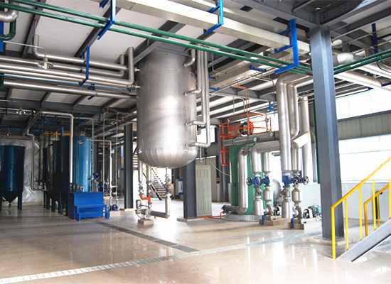 30-500tpd palm oil refining machine