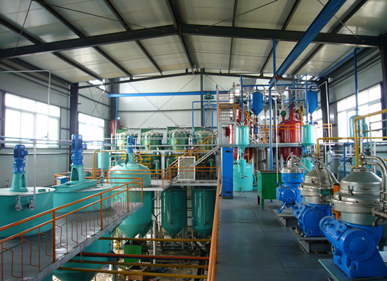 1TPD palm kernel oil refinery plant