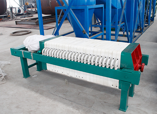 Automatic palm kernel oil press line