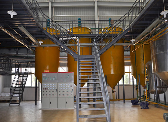 Palm oil refining machine technology