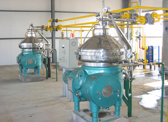 Palm kernel oil refinery equipment