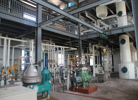 50tpd continuous palm oil refinery plant