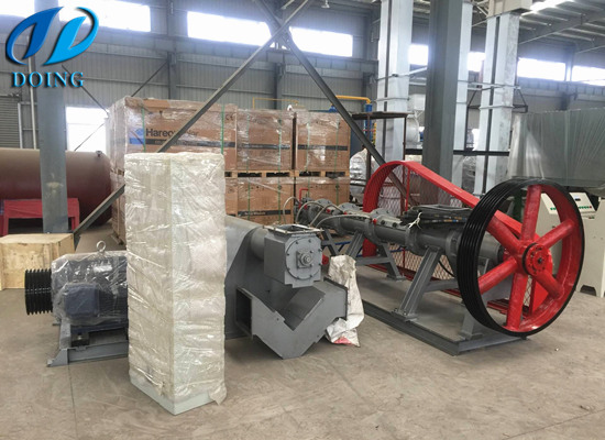 Soybean extruder machine shipped to kazakhstan