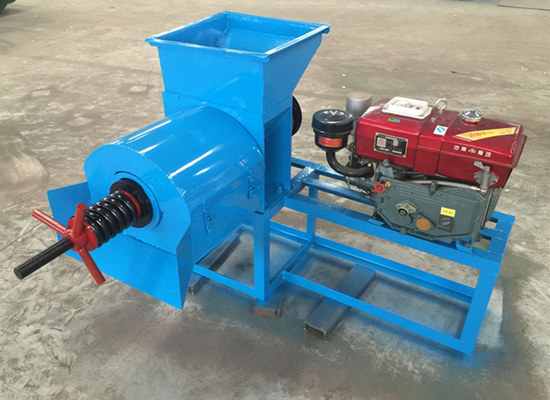 2 sets of palm oil press machine exported to nigeria