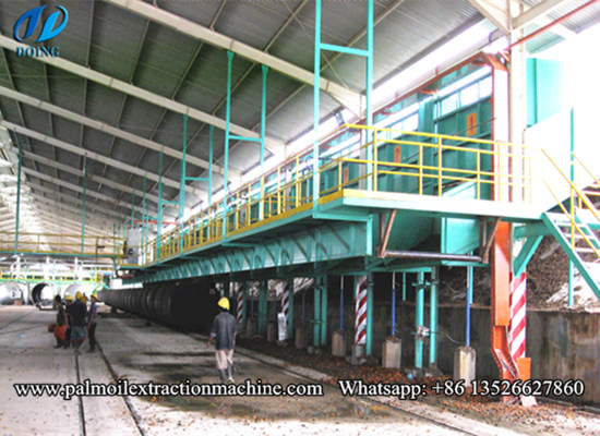 Palm oil mill processing plant