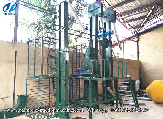 Palm kernel husking and separating series