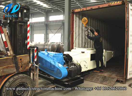 15tph palm oil extraction machine will be shipped to Mexico