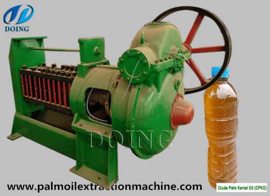 500-800kg/h palm kernel oil press machine ordered by Nigeria customer
