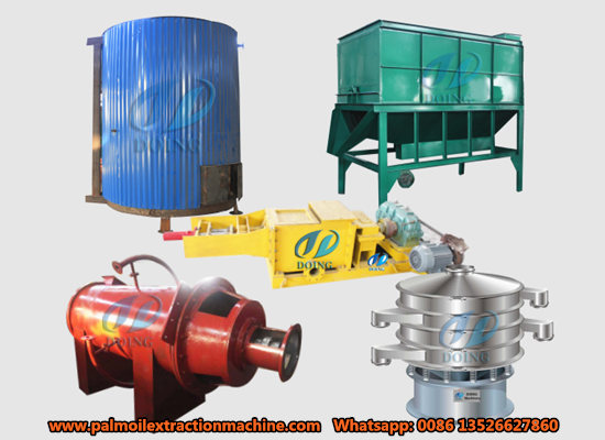 1-5tph small scale palm oil processing machinery video