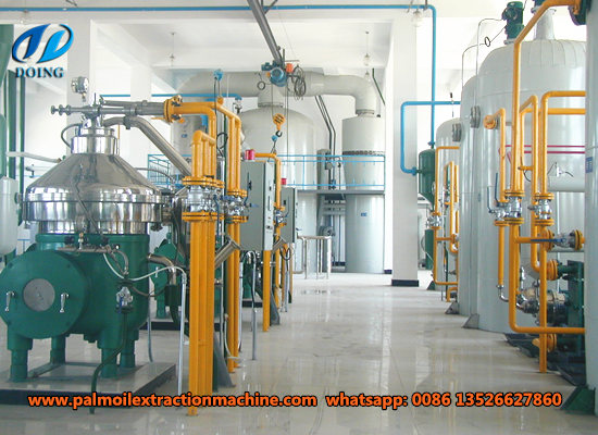 100tpd palm oil refining machine