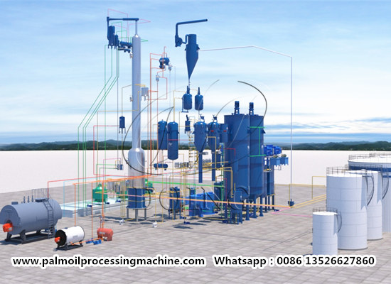 palm oil refinery and fractionation plant video