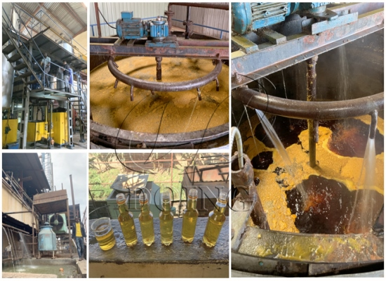 Ugandan customers choose to purchase 30 tons/day palm oil refining and fractionation plant from DOING