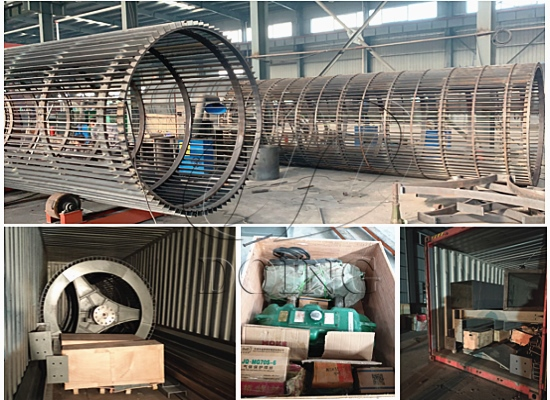 15tph empty palm fruit bunches stone removing machine will be shipped to Philippines