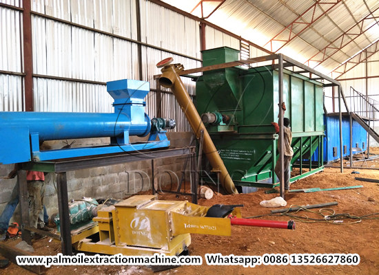 How to set up a palm oil mill that produces export quality palm oil?