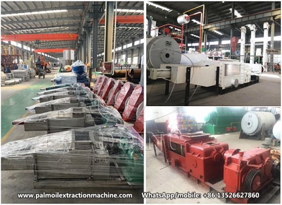 Palm oil presser and palm kernel oil presser are in stock in DOING Factory