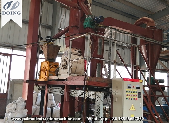 Palm kernel crushing and separating machine project in Sierra Leone