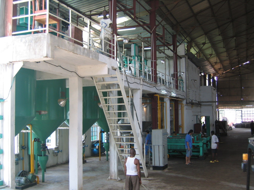 Palm Kernel Oil Extractin Plant in Sierra Leone