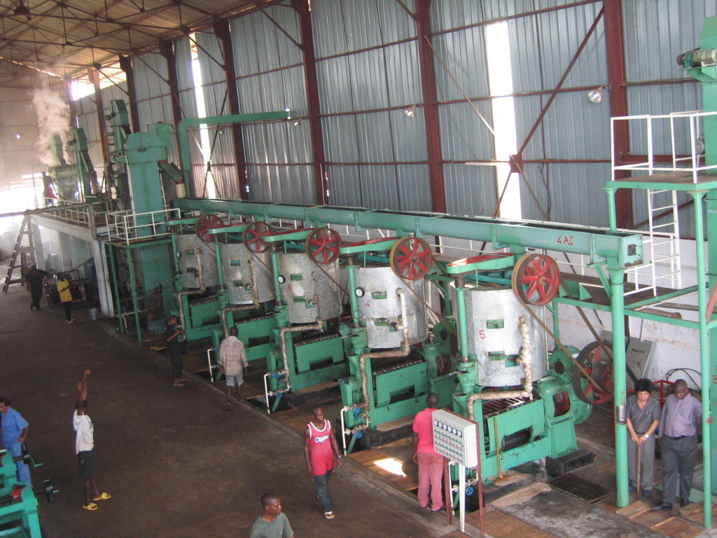 Palm Kernel Oil Extractin Plant workshop in Sierra Leone