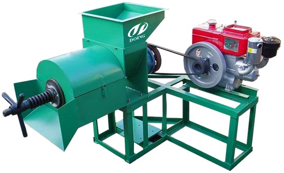 Palm oil pressing machine