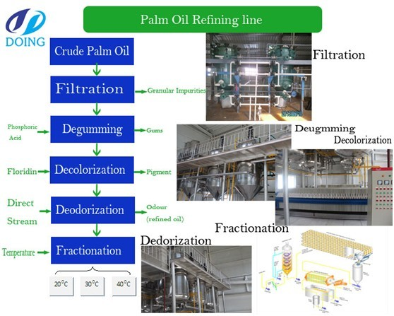 palm oil refining process