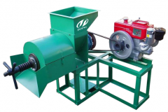 Palm oil screw press machine