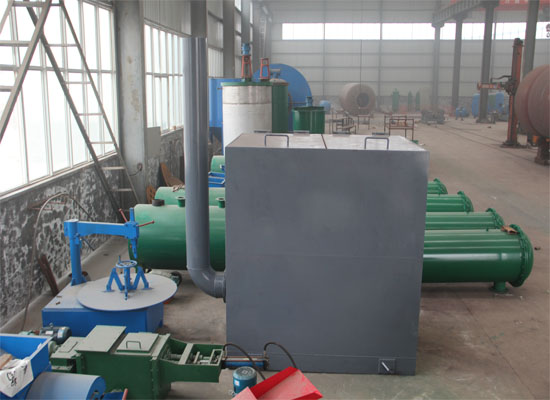 palm fruit boiler